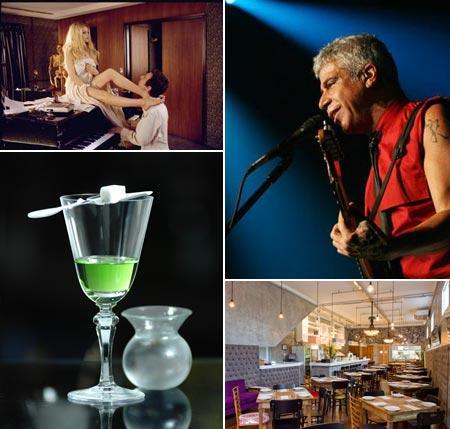 """Cena de """"Gainsbourg: o Homem Que Amava as Mulheres"""", Lulu Santos, Absinto Cocktail, do MyNY Bar, e AK Vila: dicas da hora"""