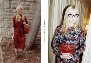 Elle Fanning, irmã da Dakota Fanning, é a estrela da campanha de inverno 2012 da Marc by Marc Jacobs!