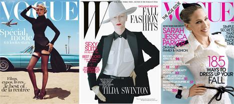 """Capas da """"Vogue"""" francesa, """"W"""" e """"Vogue"""" norte-americana: as edições de agosto já, já estarão nas bancas!"""