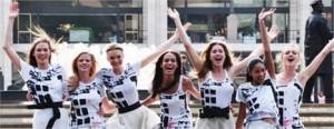 O elenco de Glee vai gravar o comercial do Fashion's Night Out!!!
