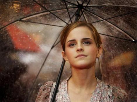Emma Watson: vivendo em um castelo
