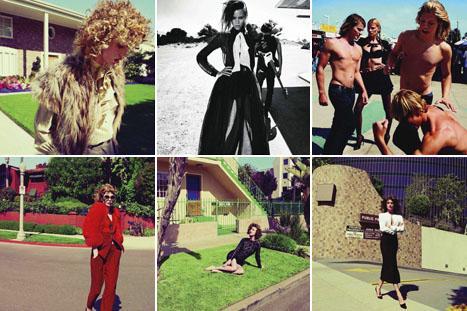 """Fotos do editorial """"Escale A L.A."""" na """"Vogue"""" francesa de agosto: imagens de tirar o fôlego feitas por Inez Van Lamsweerde & Vinoodh Matadin"""