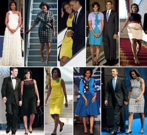 Ahh, o estilo de Michelle Obama está no ar!