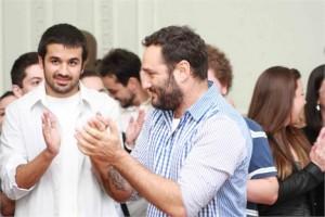 Marcelo Rosenbaum juntou uma turma para fazer um projeto lindo par a ONG Lua Nova!