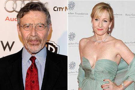 Barry Meyer e J.K. Rowling: belo reconhecimento