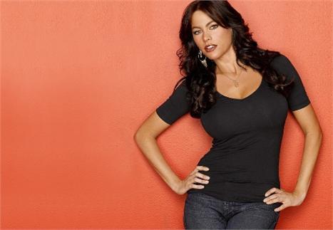 Sofia Vergara: aproveitando a beleza