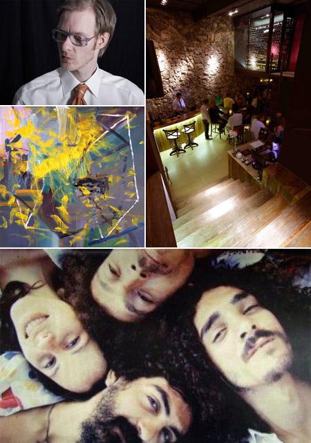 DJ Losoul, Divine Wine Bar, Gerhard Richter na Pinacoteca e documentário sobre os Novos Baianos: só dica boa!