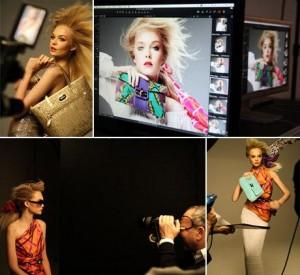 Temos imagens do making of da campanha de verão 2012 da Victor Hugo!