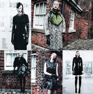 Mais Raquel Zimmermann na área! Desta vez na Vogue China. Já viram?