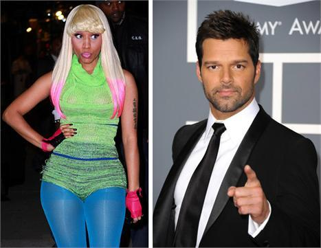 Nicki Minaj and Ricky Martin: the new faces of M.A.C.