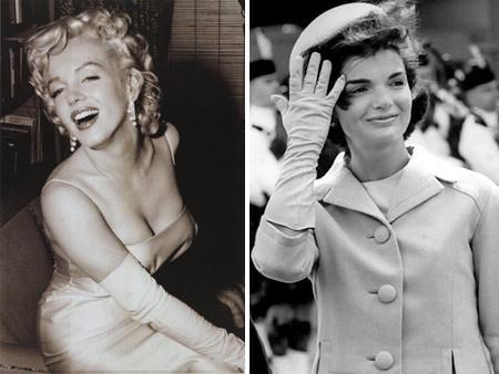 Jackie e Marilyn: divas comparadas