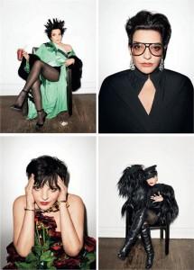 Já viu a Liza Minnelli na nova edição da revista LOVE?
