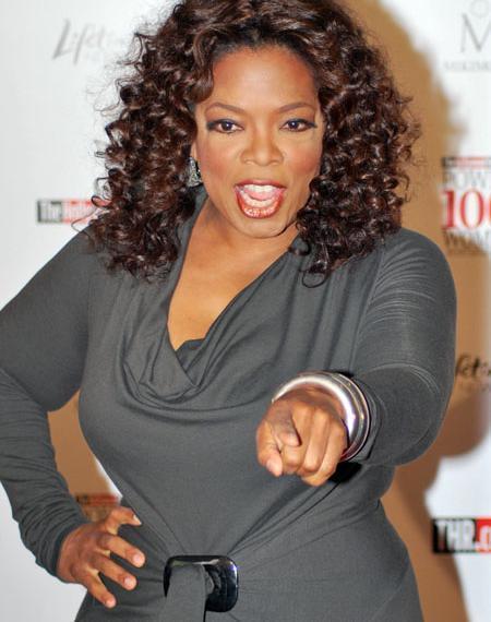 Oprah Winfrey: a apresentadora vai ganhar um Oscar no próximo dia 12 de novembro