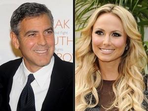 Depois de se separar, o ator George Clooney já tem nova namorada, a atriz Stacy Keibler. Veja a foto!