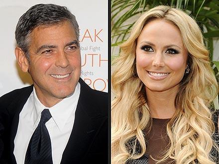 George Clooney e Stacy Keibler: novo casal