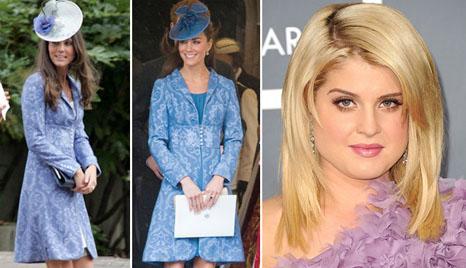 Kate Middleton e o vestido repetido e Kelly Osbourne: crítica aprovada?
