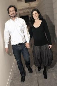 E o glamuzinho de Marcia Fortes e Eduardo Ortega é menino!