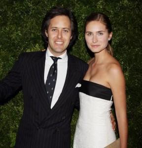 Lauren Bush e David Lauren foram protagonistas de uma festa chiquérrima nos Hamptons