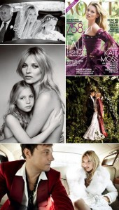 E a capa da Vogue norte-americana com Kate Moss, hein?