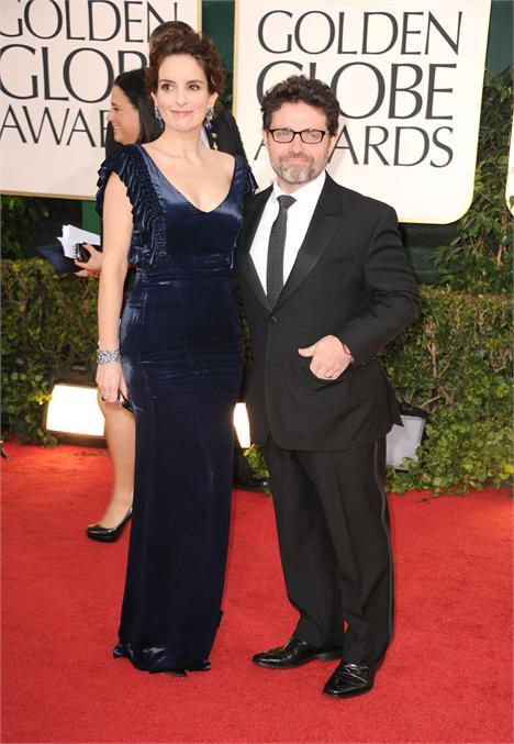Tina Fey e Jeff Richmond: segunda filha