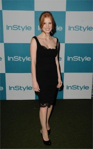 A californiana Jessica Chastain já é apontada como a atriz mais estrelada do ano. Saibam por quê!