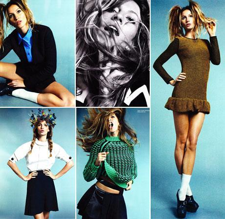 """Gisele Bundchen: On the spotlight of the pre-fall 2011 issue of x""""i-D"""" magazine"""