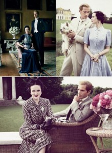 """A revista """"Vanity Fair"""" publica editorial luxo com os atores do novo filme de Madonna, """"W.E."""""""