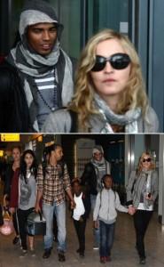 Madonna deve comemorar seu aniversário, nesta terça-feira, em clima romântico, com o namorado, Zaibat, de 24 anos