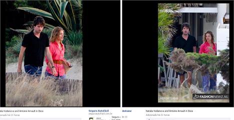 Antoine Arnault e Natalia Vodianova: namorando em Ibiza!