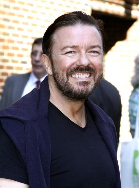 Ricky Gervais: apresentador do Globo de Ouro?