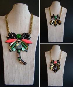 Daniela Cutait criou colares incríveis inspirados em insetos