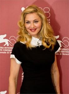 """O filme de Madonna """"W.E."""", que estreou nesta quinta-feira, no Festival de Veneza, recebeu as primeiras vaias do evento"""
