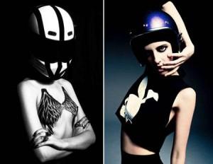 Modelos e motos, o sonho de muitos homens em imagens de Rodrigo Marques