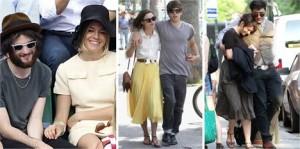 Três atrizes internacionais, três namorados novos. Quem são eles??