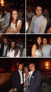 Primeira fila especialíssima no show de Roberto Carlos em Jerusalém!