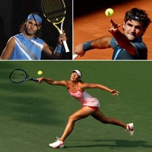 Não é só no ranking da ATP que Rafael Nadal é o número dois…