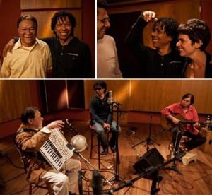 """Dominguinhos gravou o último dos seis encontros em estúdio para o filme """"Dominguinhos Volta e Meia"""""""