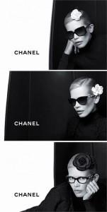 Já viu a campanha de eyewear da Chanel com Claudia Schiffer?