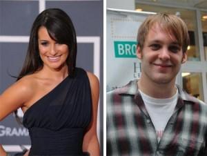 """Lea Michelle, de """"Glee"""", e o ator da Broadway Theo Stockman acabaram o relacionamento"""