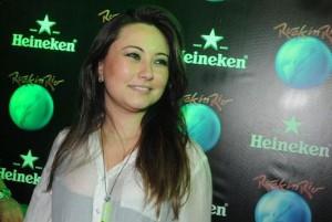 Glamurama já está indo para o lounge da Heineken, na Cidade do Rock!