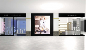 Já temos detalhes da loja Marc Jacobs no shopping Iguatemi!