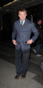 Guy Ritchie passou o Rosh Hashaná no Kabbalah Centre de Londres…