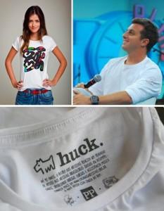 Sabia que o @huckluciano agora tem uma marca de camisetas? A ideia é bem bacana! Já viu?