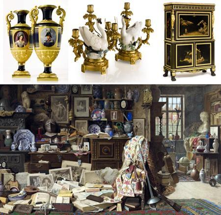 Part of the furniture and art collection of Edmond and Lily Safra: unique treasures