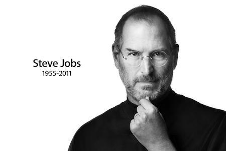 Homenagem a Steve Jobs no site da Apple: homem visionário