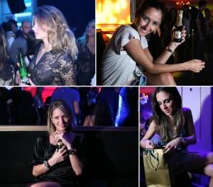O Ballroom entregou a convidados da festa de inauguração uma garrafa do champanhe Perrier-Jouët