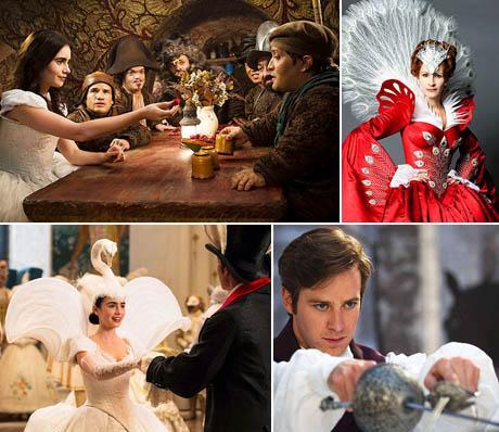Branca de Neve e o sete anões, Julia Roberts como a Rainha Má, Lilly Collins como a protagonista e o lindo príncipe encantado: nova versão