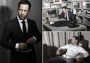 Malvino Salvador está um charme só na edição de outubro da revista Poder. Aiaiii…