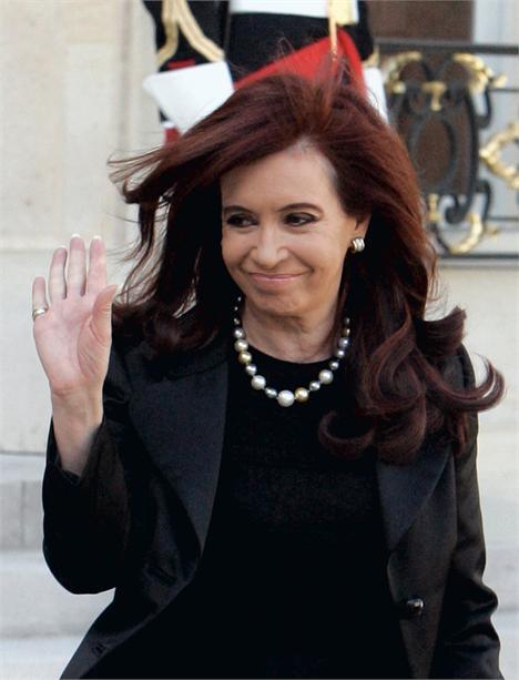 Cristina Kirchner: boas novas em 2012