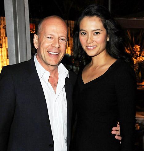 Bruce Willis e Emma Heming: nasceu a filhinha